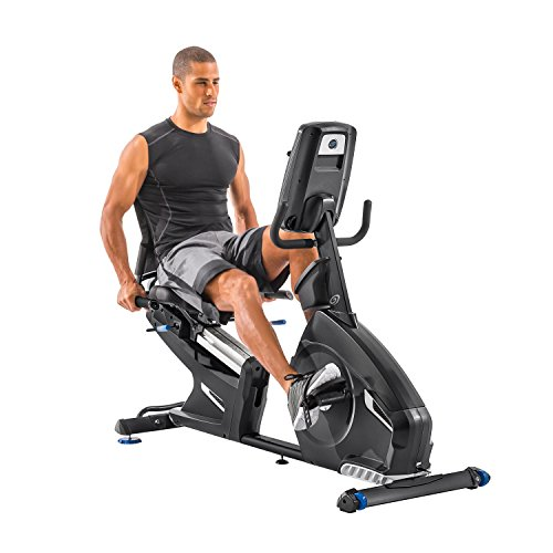 Nautilus R618 Recumbent Bike, Black Nautilus Domestic Ohio