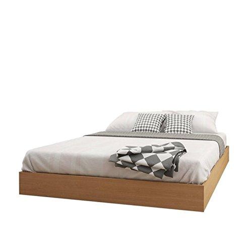 Atlin Designs Queen Platform Bed in Maple