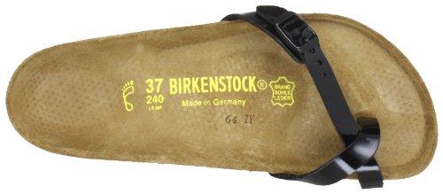 Birkenstock piazza 017191 - Sandalias para mujer Negro (Schwarz (schwarz lack))