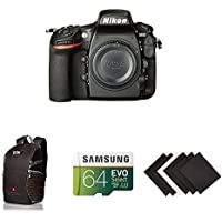 Nikon D810 FX-format Digital SLR Camera Body w/ AmaoznBasics Accessories