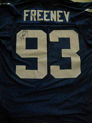Dwight Freeney autographed/signed Indianapolis Jersey ()