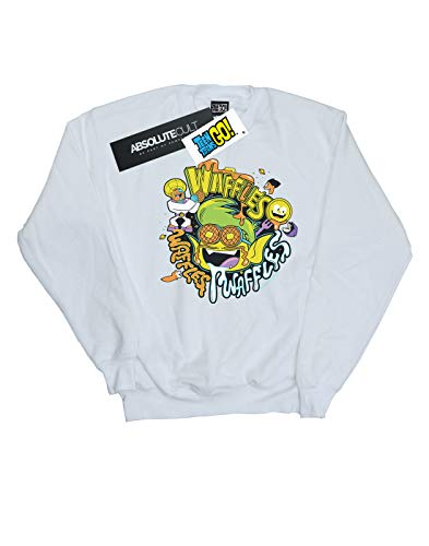 Go Entrenamiento Titans Mujer Mania Teen Camisa Dc Blanco Waffle De Comics qw6CxIPB