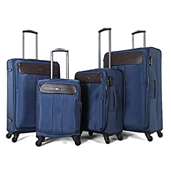 TraveliteLuggage Trolley Bags Set 4 pcs 887140-blue