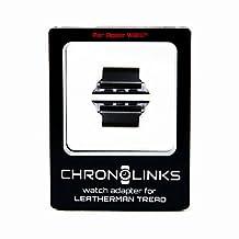 ChronoLinks Leatherman Tread Watch Adapter - Black DLC (Apple 42mm)