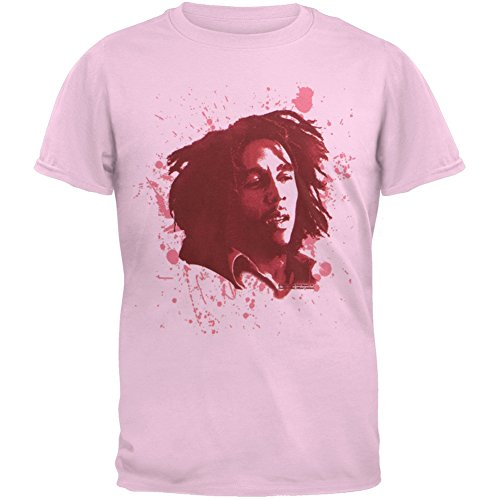 Bob Marley - Splatter Paint Portait Girls Youth T-Shirt