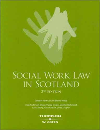 Book Social Work Law in Scotland (Greens Concise Scots Law)