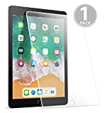 Mumba New iPad 9.7 inch (2018 & 2017)/iPad Pro 9.7/iPad Air 2/iPad Air Tempered Glass Screen Protector[High Definition][Scratch Resistant][Bubble Free]