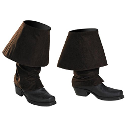 Pirate Boot Covers Costume Accessory (Girls Pirate Boots)