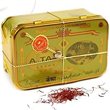 ALTAJ SAFFRON- Pure Spanish Saffron, 1 oz tin: Product of Spain
