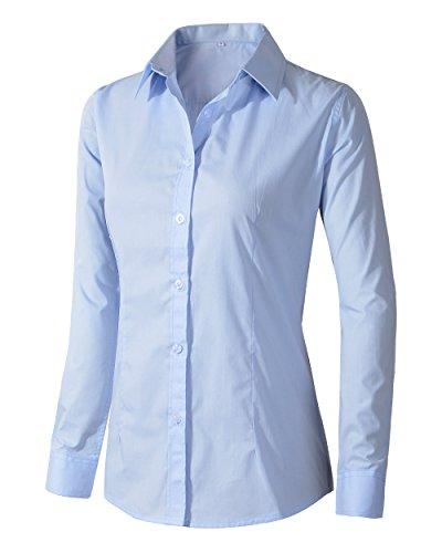 light blue fitted shirt - 9
