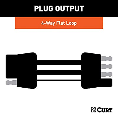 CURT 58903 Custom Towed-Vehicle RV Wiring Harness for Dinghy Towing Select Jeep Wrangler JK: Automotive