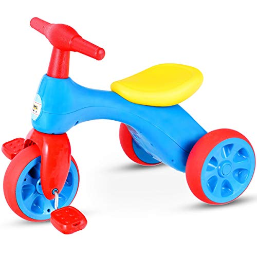 Costzon Toddler Tricycle Walker Baby Balance Tricycle with F