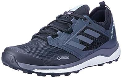 adidas Australia Women's TERREX Agravic XT GTX Trail Running Shoes, Core Black/Grey/Ash Green, 5 US