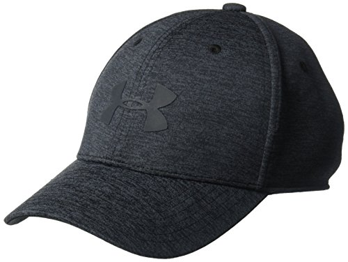 Under Armour Boy's Armour Twist 2.0 Cap, Black (001)/Stealth Gray, Youth Small/Medium (Hat Under Kids Armour)