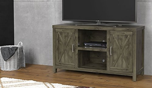 Comfort Smart Lawson Media Console, Spanish Gray