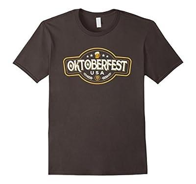 Oktoberfest USA Tshirt Funny Octoberfest Beer Gift Shirt