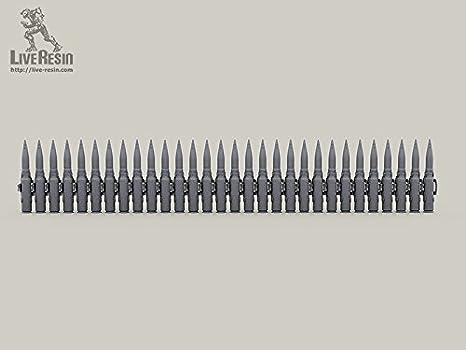 Live Resin 1//35 LRE-35313 30mm 2A72 Gun Shells Belt 4 pcs Different Type Belt