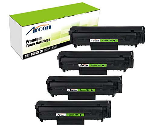Arcon 4pk 2000 Pages Compatible Toner Cartridge Replacement For