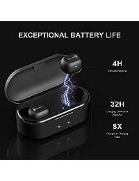 5.0 Auriculares Bluetooth S Negro