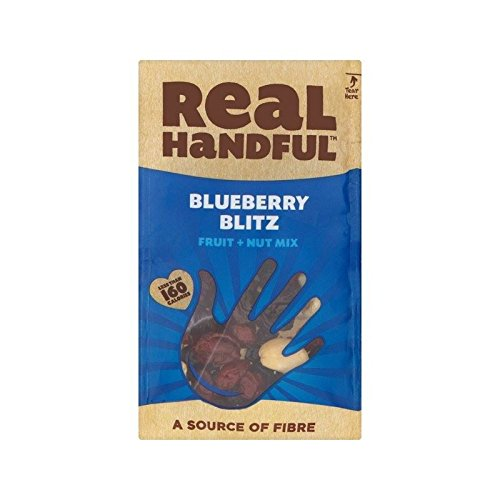 Real Handful Blueberry Blitz 40g - Pack of 6 by Real Handful