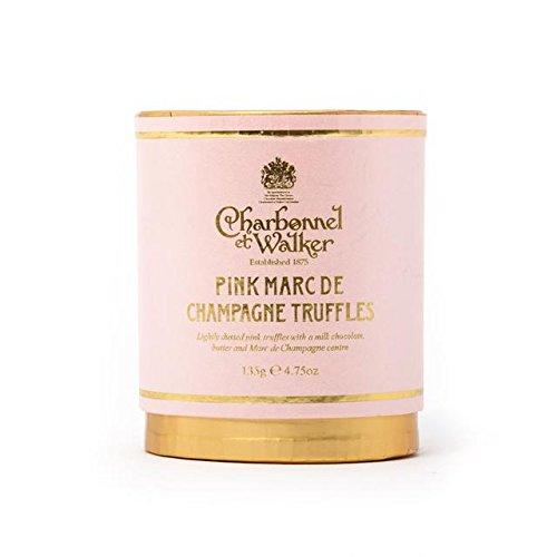 Charbonnel & Walker Truffles Pink Champagne 130g by Charbonnel et Walker