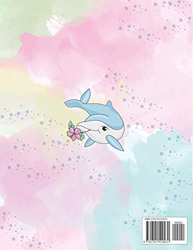 Sketchbook: Cute whale under the sea cover (8.5 x 11)  inches 110 pages, Blank Unlined Paper for Sketching, Drawing , Whiting , Journaling & Doodling