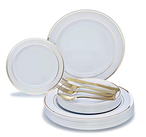Plates Silverware Plastic (