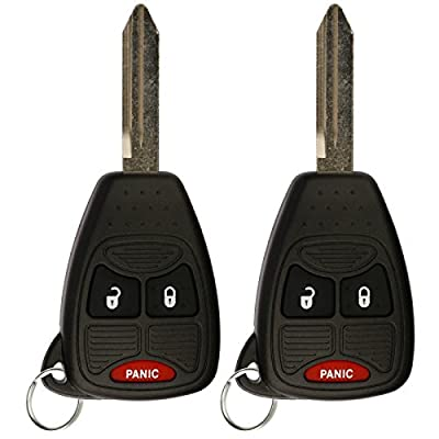 KeylessOption Keyless Entry Remote Control Car Ignition Key Fob Replacement for M3N5WY72XX (Pack of 2): Automotive