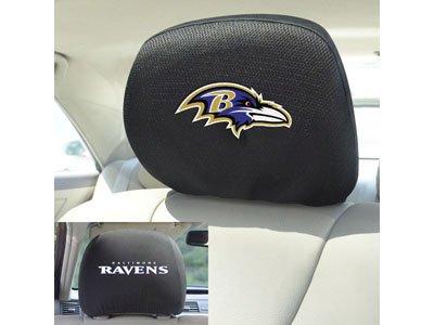 - FANMATS 12490 Head Rest Cover NFL (Baltimore Ravens)