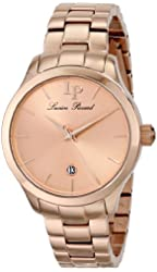"Lucien Piccard Women's LP-12915-RG-99 ""Coimbra"" Stainless Steel Watch"