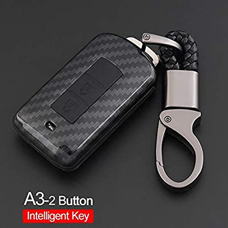 Amazon.com: Key Case Car Styling Keychain For Mitsubishi ...