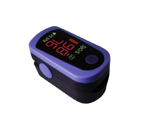 Fingerpulsoxymeter Pulsoxymeter Fingerpulsoximeter Modell MD300 C13 mit Batterien + Zubehör + Garantie TÜV Süd geprüftes + CE zertifiziertes Gerät