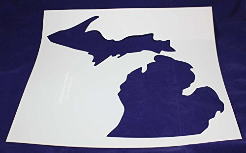 State of Michigan Stencil-Mylar 14 Mil -19
