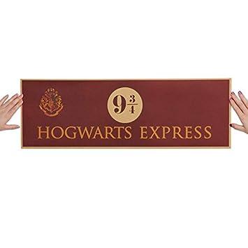 9 3/4 (nueve y tres cuartos) Plataforma Película de Harry ...