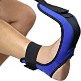 Everyday Medical Plantar Fasciitis Foot Stretching Strap - Leg and Foot Stretcher - Stretch Your Heel, Calf and Arch - Improve Strength, Balance, Flexibility, Prevent Injuries - Great for Yoga