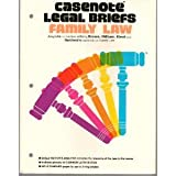 Family Law : Adaptable to Courses Utilizing Krause, Oldman, Elrod and Garrison's Casebook on Family Law, Casenotes Publishing Co., Inc. Staff, 0874570840