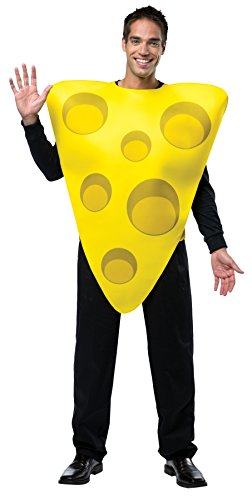 UHC Comical Cheese Tunic Funny Theme Party Fancy Dress Halloween Costume, (Cheese Costume)