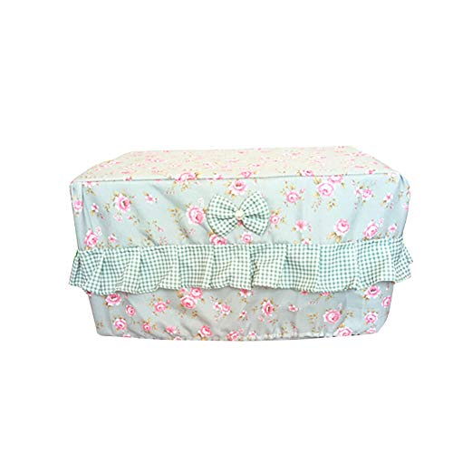 Heavy Duty Microwave Oven Cover, Toaster Oven Cover, Beatiful Kitchen Appliances Cover, Gift for Women JJZ184 (Green)
