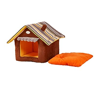 Dog houses For Medium and Small Pets Color Green, Yellow , Coffee