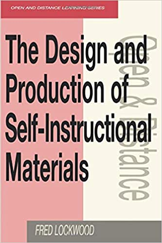 The Design And Production Of Self Instructional Materials Open And Flexible Learning Series Lockwood Fred 9780749414559 Amazon Com Books