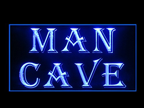 MAN CAVE Display Led Light Sign