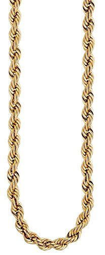 5,4 mm Cordon Chaîne Collier en or jaune 585 50 cm collier bijoux