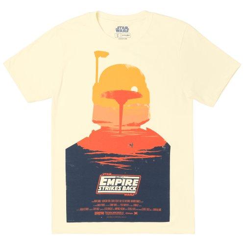 Star Wars Empire Strikes Back Boba Fett Silhouette Shirt (Empire Silhouette)