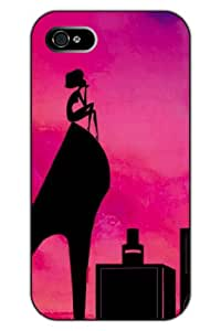 SPRAWL@DESIGN Beauty Design Hard Back Shell Case Cover for IPHONE 5 5G 5S --High-heeled shoes / girls