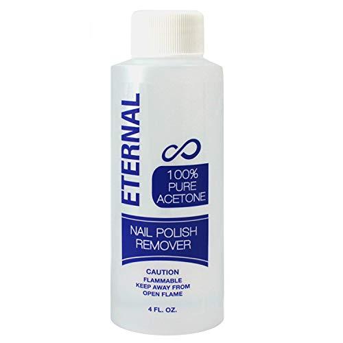 Eternal Professional Nail Polish Remover - 100% Pure Acetone (4 Ounces)