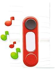 Smoby 810912 - Elektronische deurbel, compatibel met huizen, kinderen vanaf 2 jaar, kleur (810912)