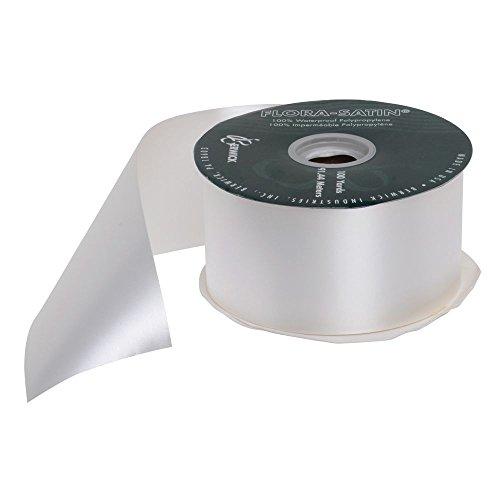 2 1/2 (W) Decorative Ribbon, White