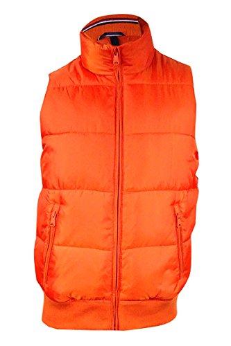 Tommy Hilfiger Men's Zip-Front Puffer Vest (S, - Zip Puffer Front