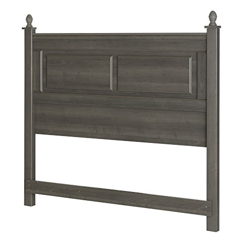 South Shore Noble Full/Queen Headboard (54/60''), Gray (Maple Traditional Headboard)