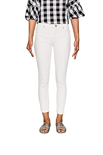 Esprit Jean Skinny Femme Blanc (Off White 110)